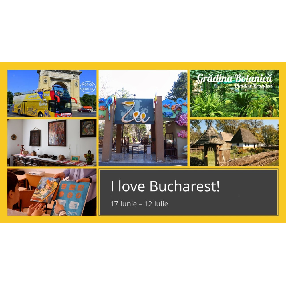 I love Bucharest!