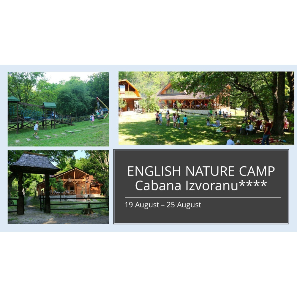 English-Nature Camp Cabana Izvoranu