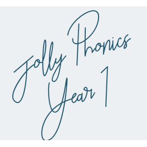 Jolly Phonics Year 1
